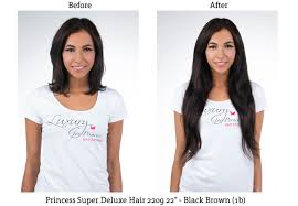 clip in hair extensions before and after before and after luxury for princess clip in hair extensions