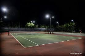 led ball field lighting tennis court led lighting tennis lighting installation spark
