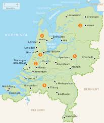 netherland map europe popular 245 list netherlands map
