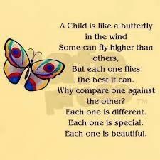 perhaps small butterflies for each of my grandchildren
