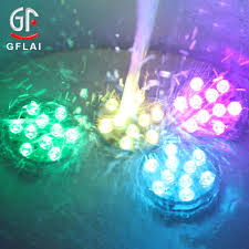 submersible led lights wholesale factory wholesale rgb waterproof remote controlled submersible led
