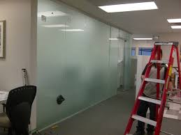 Glass Partition Design Office Interior Design With Glass Wall Partition Walls And F Door