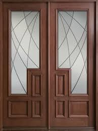 wood and glass exterior doors solid front door istranka net