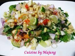 images de cuisine ปลาน ำดอกไม ยำสม นไพร cuisine by majung