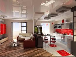 beautiful modern elegant living room design for hall kitchen