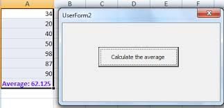 vba for excel 2007 tutorial loop to compute average of values