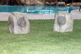 wireless bluetooth rock speakers yardbright landscape lighting