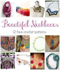 free necklace patterns images Fiber flux beautiful necklaces 12 free crochet patterns jpg