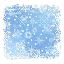 blue christmas snow background with snow stripes eps10 vector