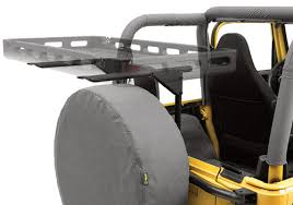 cargo rack for jeep wrangler bestop jeep wrangler highrock 4x4 tailgate cargo rack