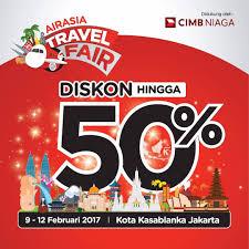 airasia travel fair airasia travel fair 2017 di kota kasablanka kota com