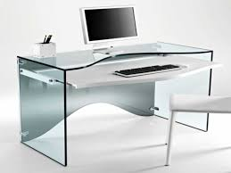 contemporary glass computer desk contemporary glass computer desk