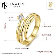 aliexpress buy new arrival fashion 24k gp gold new arrival fashion 24k gp gold color mens women jewelry ring gold