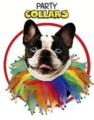 festive collars for dogs or cats