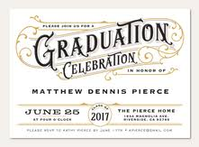 graduation announcements simply to impress