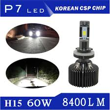 le h7 led autoki p7 h15 h4 h7 h11 9005 9006 5202 60w 8400lm auto car led