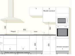 cuisine taille profondeur meuble haut cuisine taille standard meuble cuisine 4