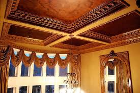 made decorative ornamental plaster crown molding by cast