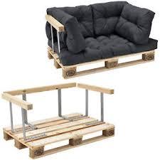 rembourrage canapé en casa canapé palette coussin anthracite accoudoir 2 siège