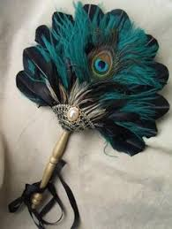 peacock feather fan diy peacock feather fan bouquet for bridesmaids evidence