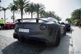 Ferrari F12 Matte Black - matte grey novitec n largo ferrari f12 in dubai gtspirit