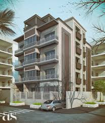 Home Design Architecture  Abscraft Apartment Building Exterior - Apartment exterior design ideas