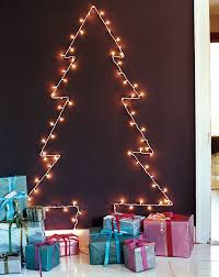 lovely tree out of lights on wall 16 for your black