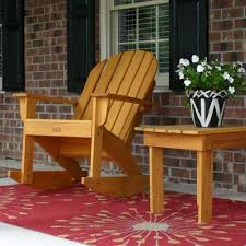 Patio Rocking Chairs Wood by Furniture Awesome Adirondack Rocking Chair Design Ideas With