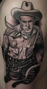 cowboy hat tattoo design on ankle in 2017 real photo pictures
