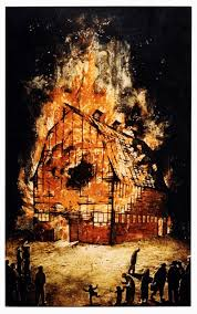 Barn Burning Symbolism The Passion Of William Kurelek Studio Ostudio O