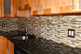 Backsplash Ideas For Kitchens With Granite Countertops Kitchen Fancy Kitchen Glass And Stone Backsplash Ideas For