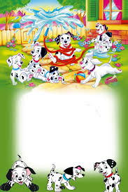 101 dalmatians free printable photo frames dalmatians
