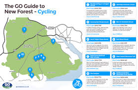 Map A Bike Route by 10 New Forest Cycle Routes Go Outdoors Blog