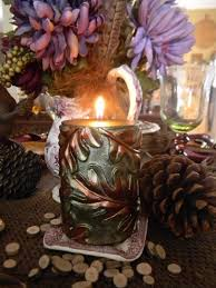 nancy s daily dish a brown and aubergine tablescape for fall with