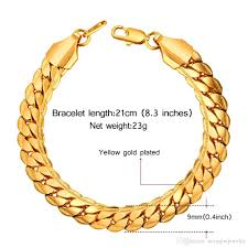 classic link bracelet images 2018 men jewelry classic bracelet snake link chain 9mm four color jpg