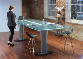 bar height conference table standing height conference table stoneline designs