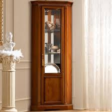 decoration small glass fronted display cabinets small oak