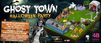 video halloween party ghost town halloween party in dubai location u0026 details