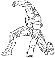 ironman coloring pages chuckbutt com