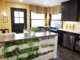 Kitchen Drapery Ideas Kitchen Window Treatment Valances Hgtv Pictures U0026 Ideas Hgtv