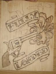 intro to wood burning 4 steps pyrography wood burning step by step western typography rando