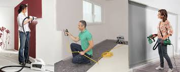 Paint Spray Gun Hire - quick painting interior walls with best indoor paint sprayer