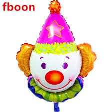 circus balloon 50pcs lot circus clown foil balloons happy birthday party