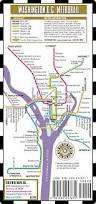 Metro Rail Map by Streetwise Washington Dc Metro Map Laminated Washington Dc