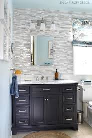 The Bathroom Game by Serene Sophisticated Master Bathroom Reveal Jenna Burger