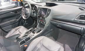subaru crosstrek interior 2018 2017 new york auto show 2018 subaru crosstrek autonxt