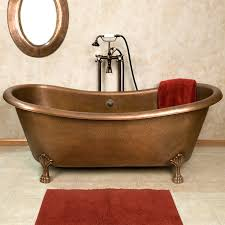 Copper Pedestal Vintage Clawfoot Tub The Is Back In Fashion Home Inside Copper