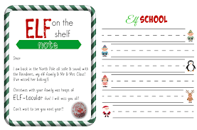 printable elf on the shelf arrival letter free elf on a shelf printables super busy mum