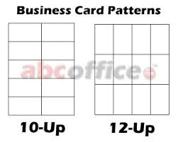 12 Up Business Card Template best business card cutter for the dollar abc office inside 12 up