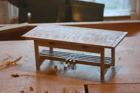 free coffee table plans arts and crafts coffee table tables project plan an thippo